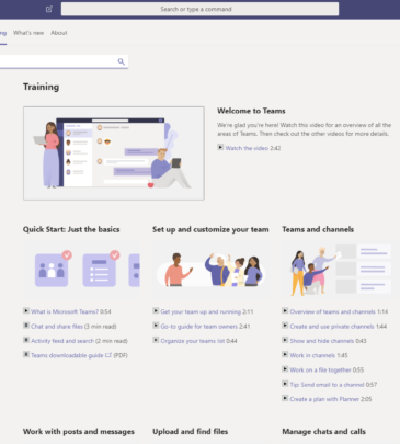 Managing Projects with Microsoft Teams